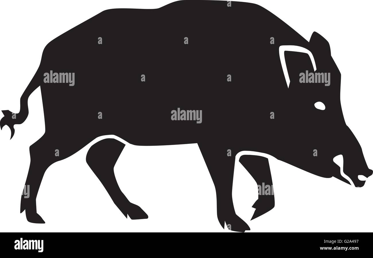 Swine Silhouette