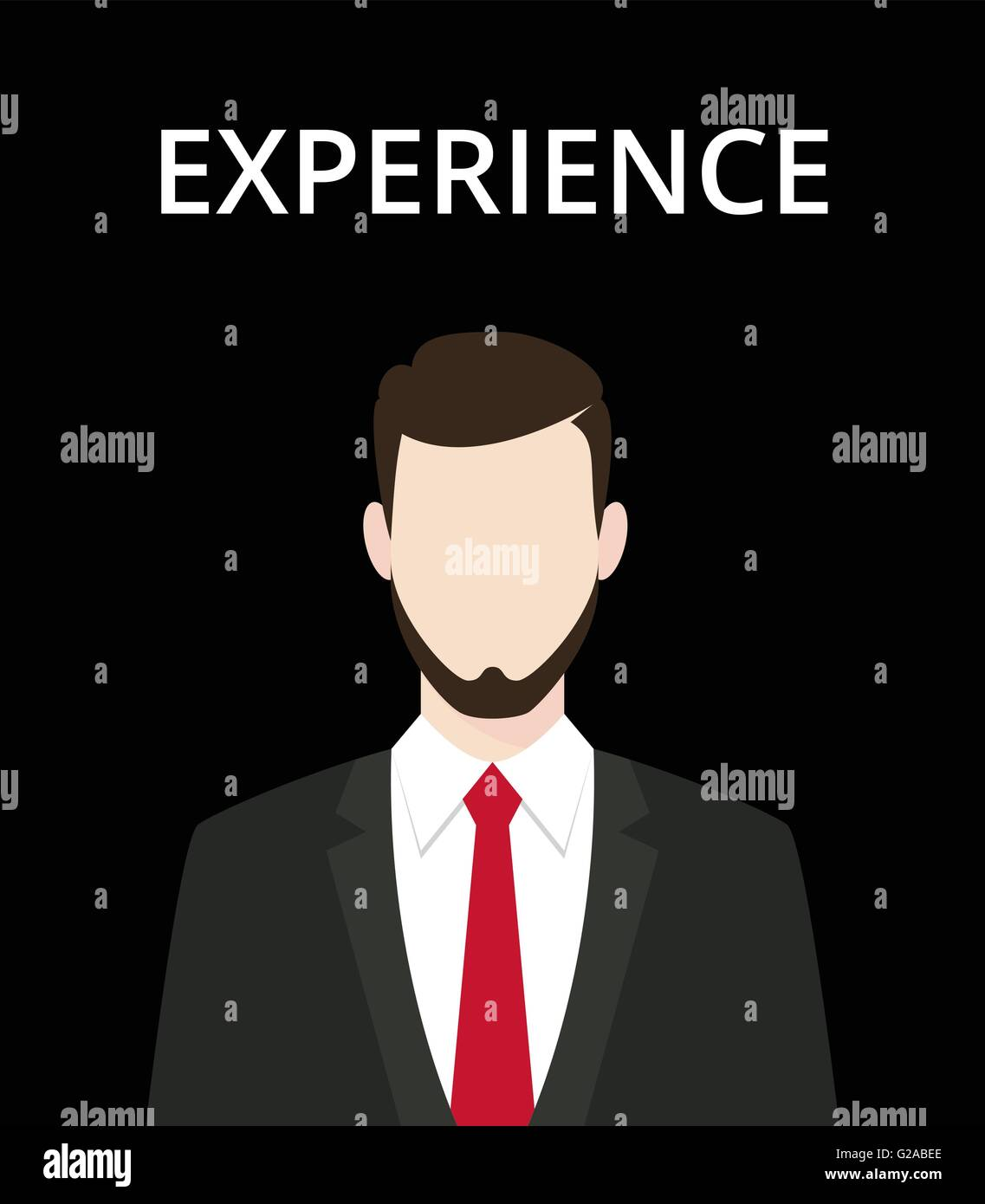 businessman standing representing an experience and stock vector businessman standing representing an experience and professionalism in work vector graphic illustration