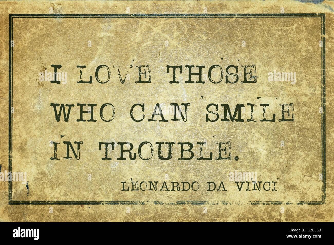 Italian Love Quotes I Love Those Who Can Smile In Trouble  Ancient Italian Artist