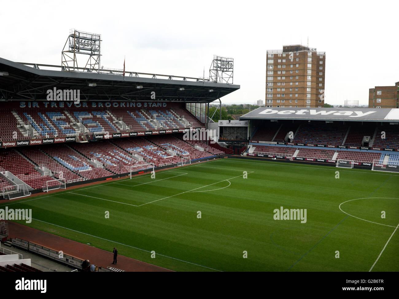 Sir Trevor Brooking Stand, The Boleyn Ground, Upton Park ...