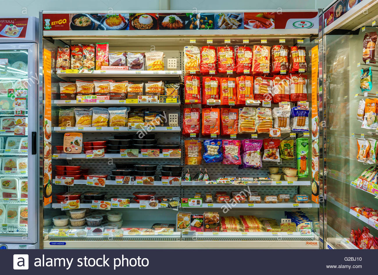 7eleven Store In Thailand Stock Photo Royalty Free Image