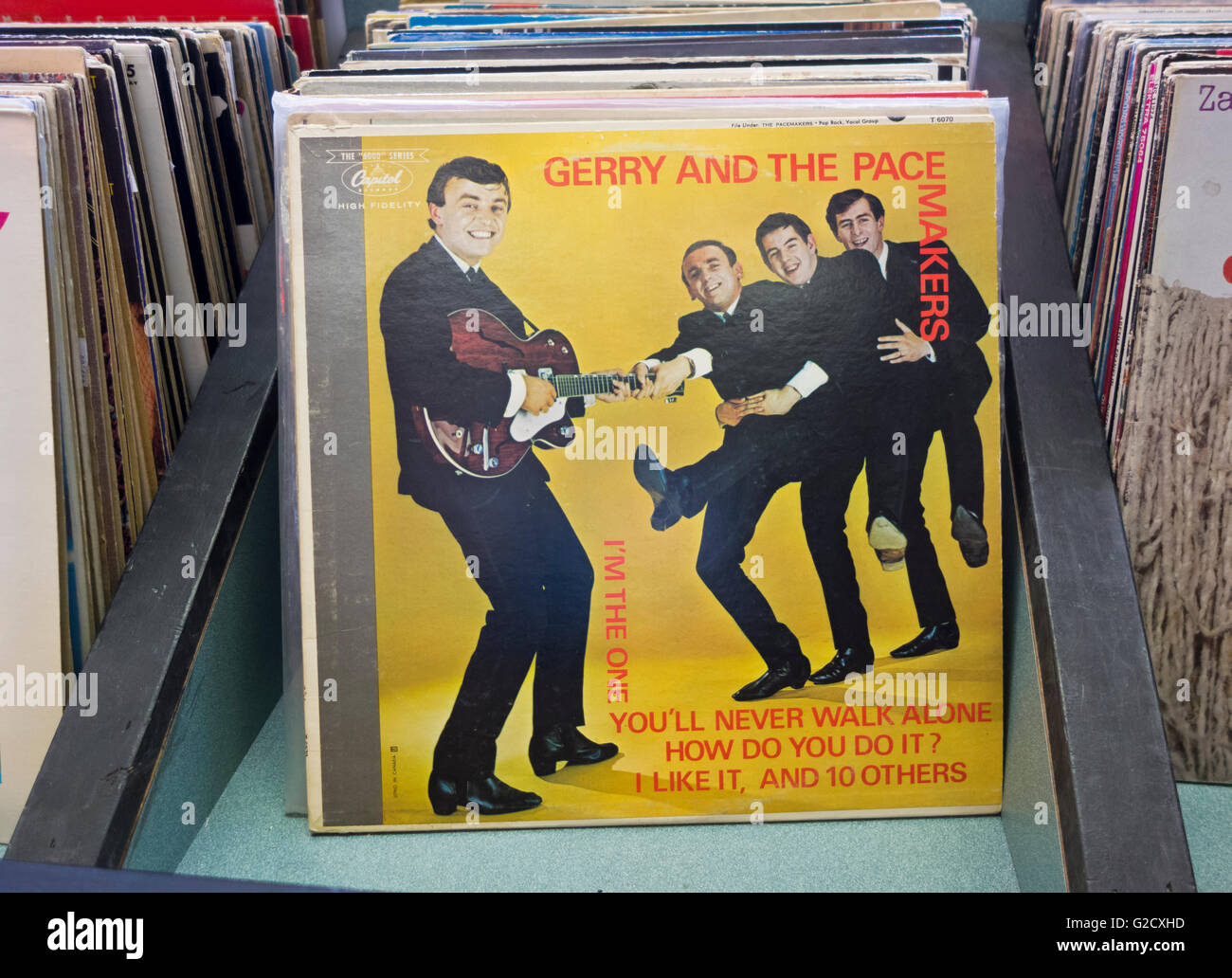 Gerry And The Pacemakers Record Album Cover Quot How Do You
