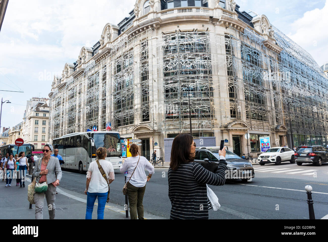 Paris, France, Street Scene, French Culture Minister ... - photo#9