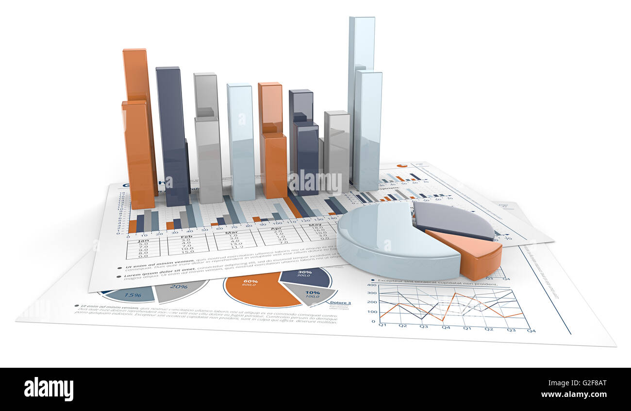 3d render of financial documents with graphs and pie charts calm 3d render of financial documents with graphs and pie charts calm colors nvjuhfo Image collections