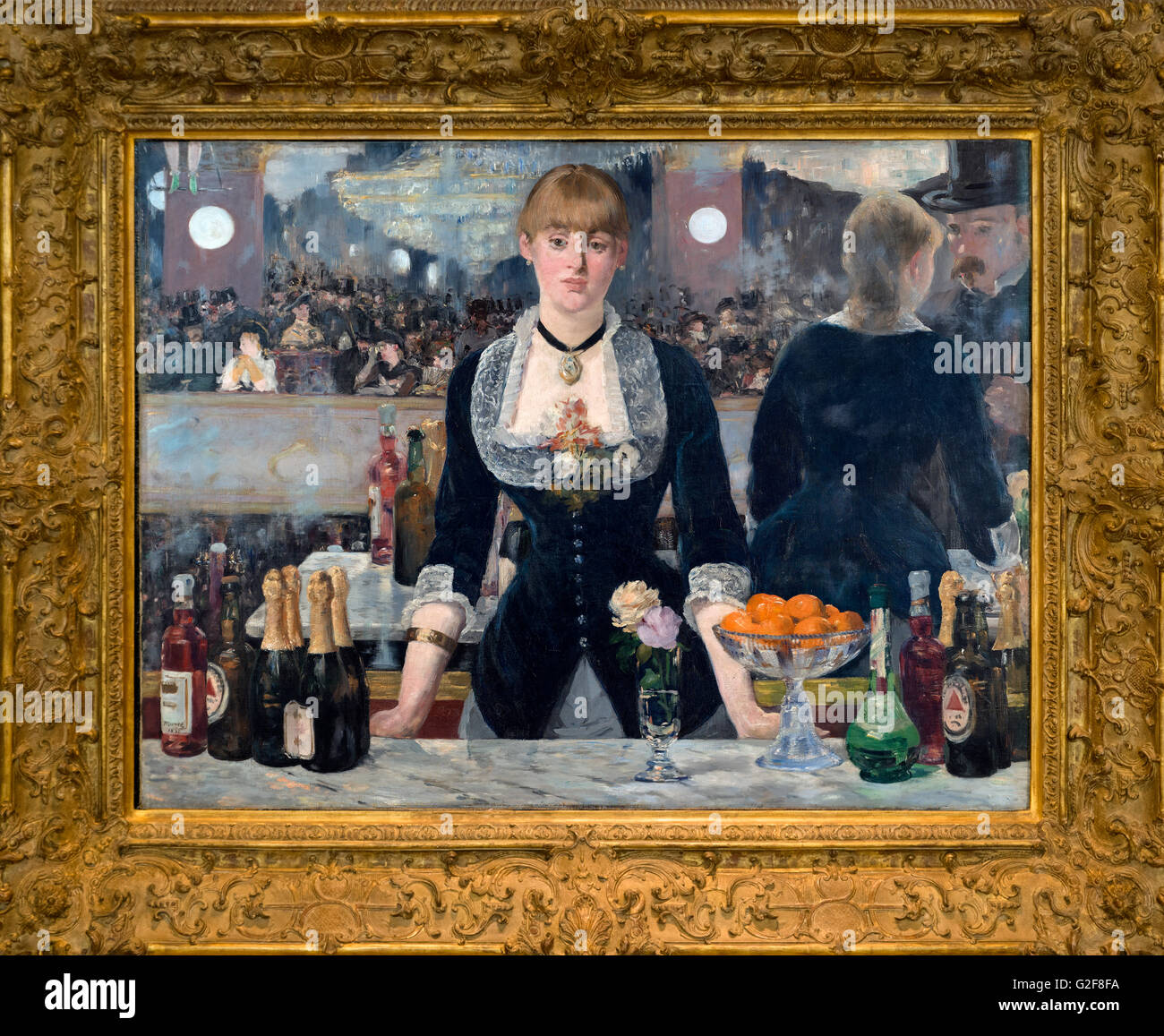 manet at the bar Édouard manet (us: / m  (un bar aux folies-bergère), in 1882 and it hung in the salon that year afterwards he limited himself to small formats.