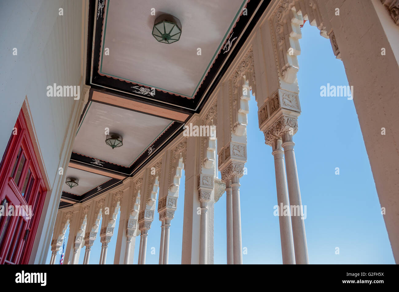 Art deco architectural details of catalina casino ballroom for Art deco architectural details