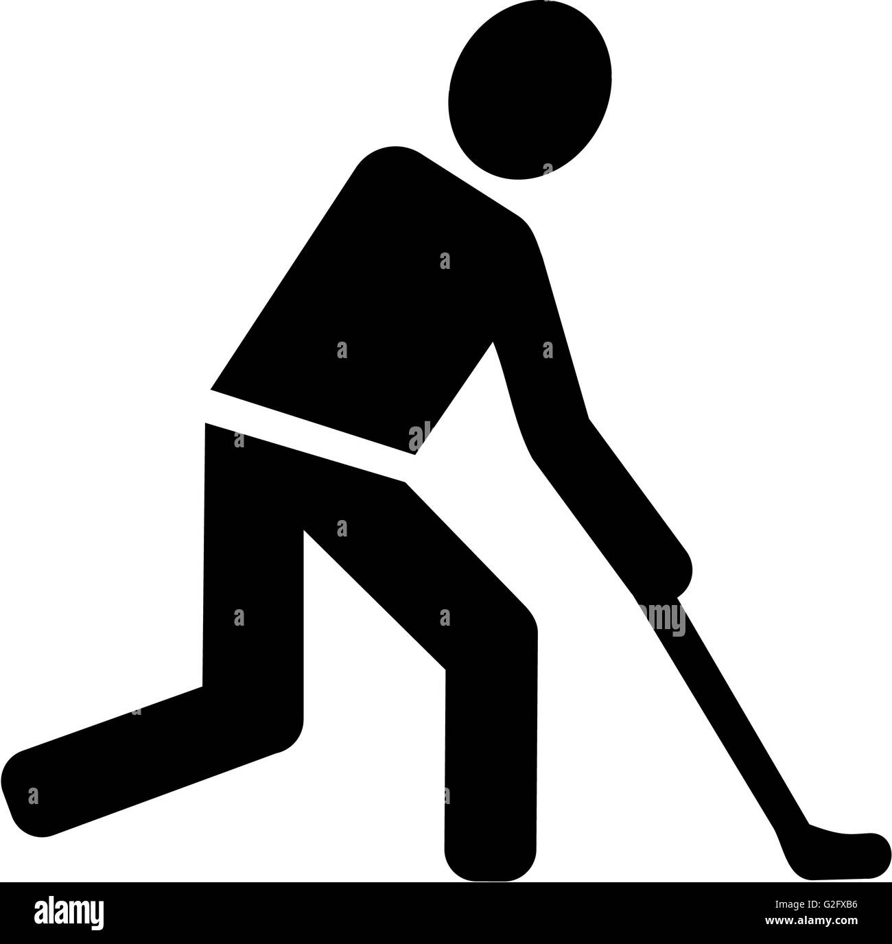 Field hockey pictogram stock photo 104841498 alamy field hockey pictogram biocorpaavc Image collections