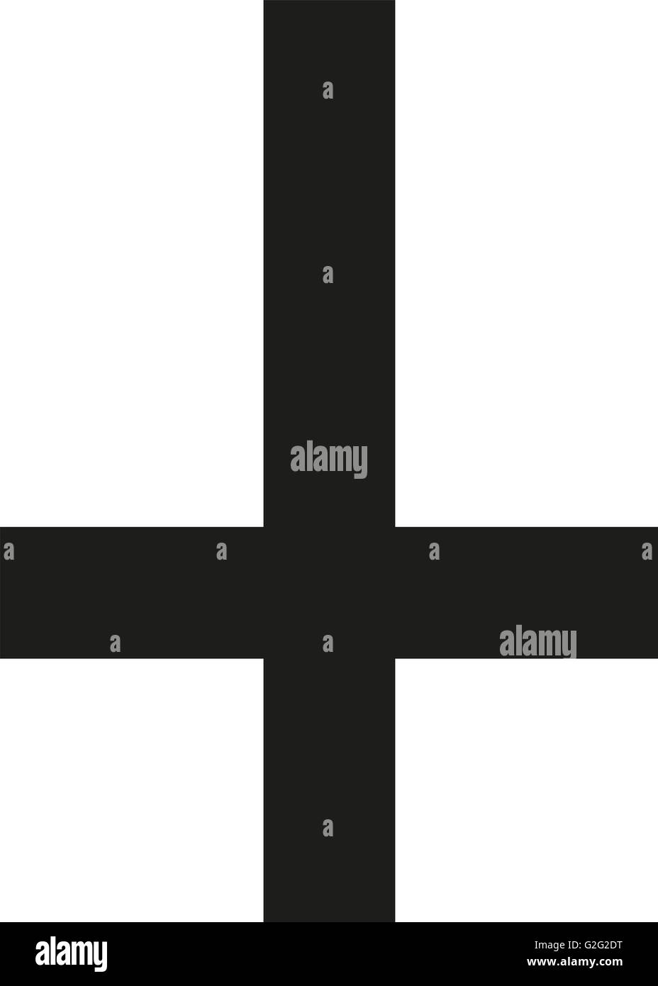 Religious cross upside down stock photo royalty free image religious cross upside down buycottarizona