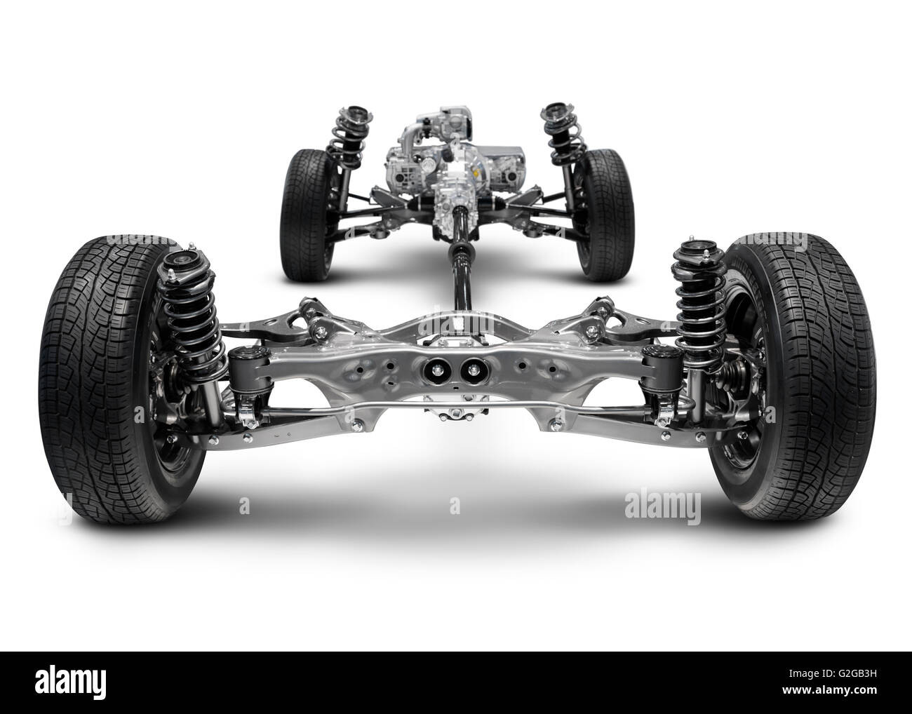 Subaru Front Wheel Drive : Subaru symmetrical all wheel drive awd suspension system
