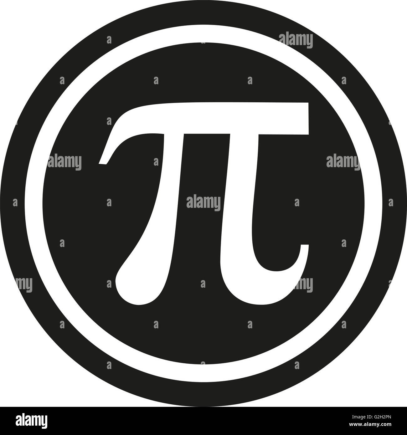Pi symbol with the for Pi character