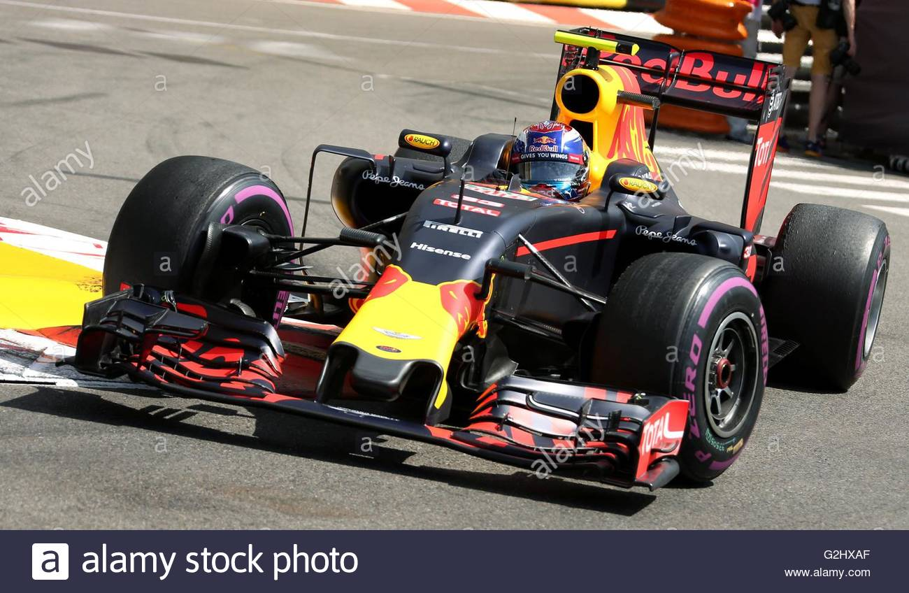 max verstappen red bull racing monaco grand prix 2016 monaco monaco stock photo royalty free. Black Bedroom Furniture Sets. Home Design Ideas