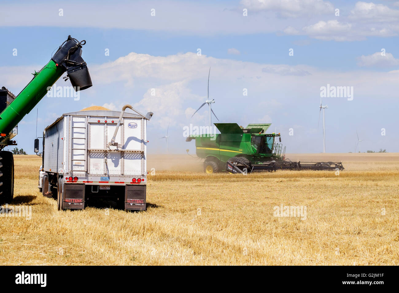 a-john-deere-combine-harvests-wheat-whil