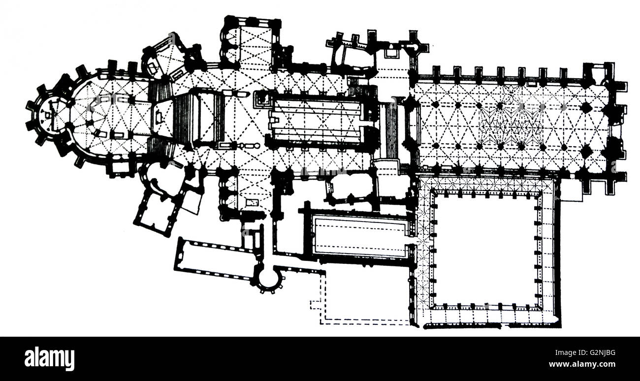 Canterbury cathedral floor plan stock photo royalty free Canterbury floor plan