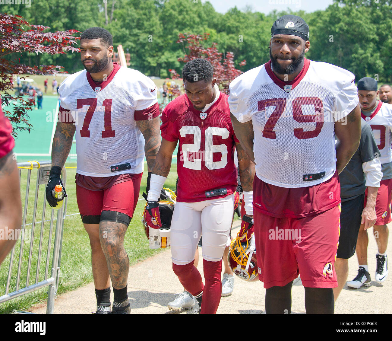Washington Redskins offensive tackle Trent Williams 71