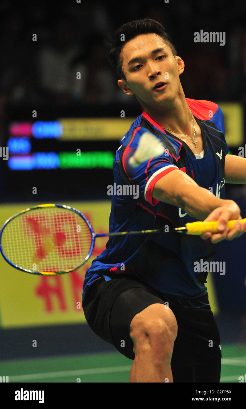 Jakarta Indonesia 2nd June 2016 Jonatan Christie of Indonesia