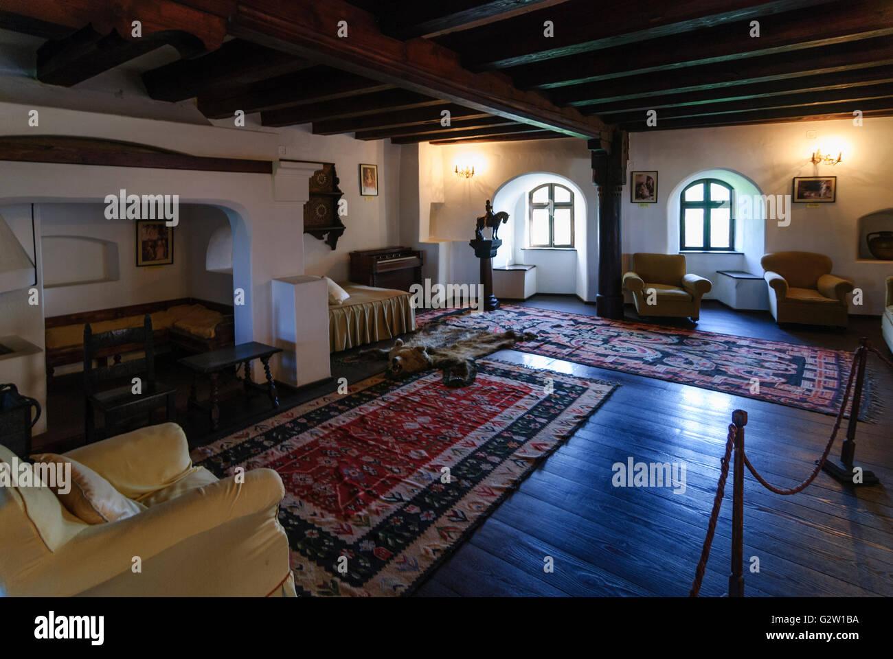 Marvelous Bran Castle ; Living Room Of Queen Marie, Romania, Transilvania,  Transylvania, Siebenbürgen (Transsilvanien) , Bran (Törzburg Amazing Ideas