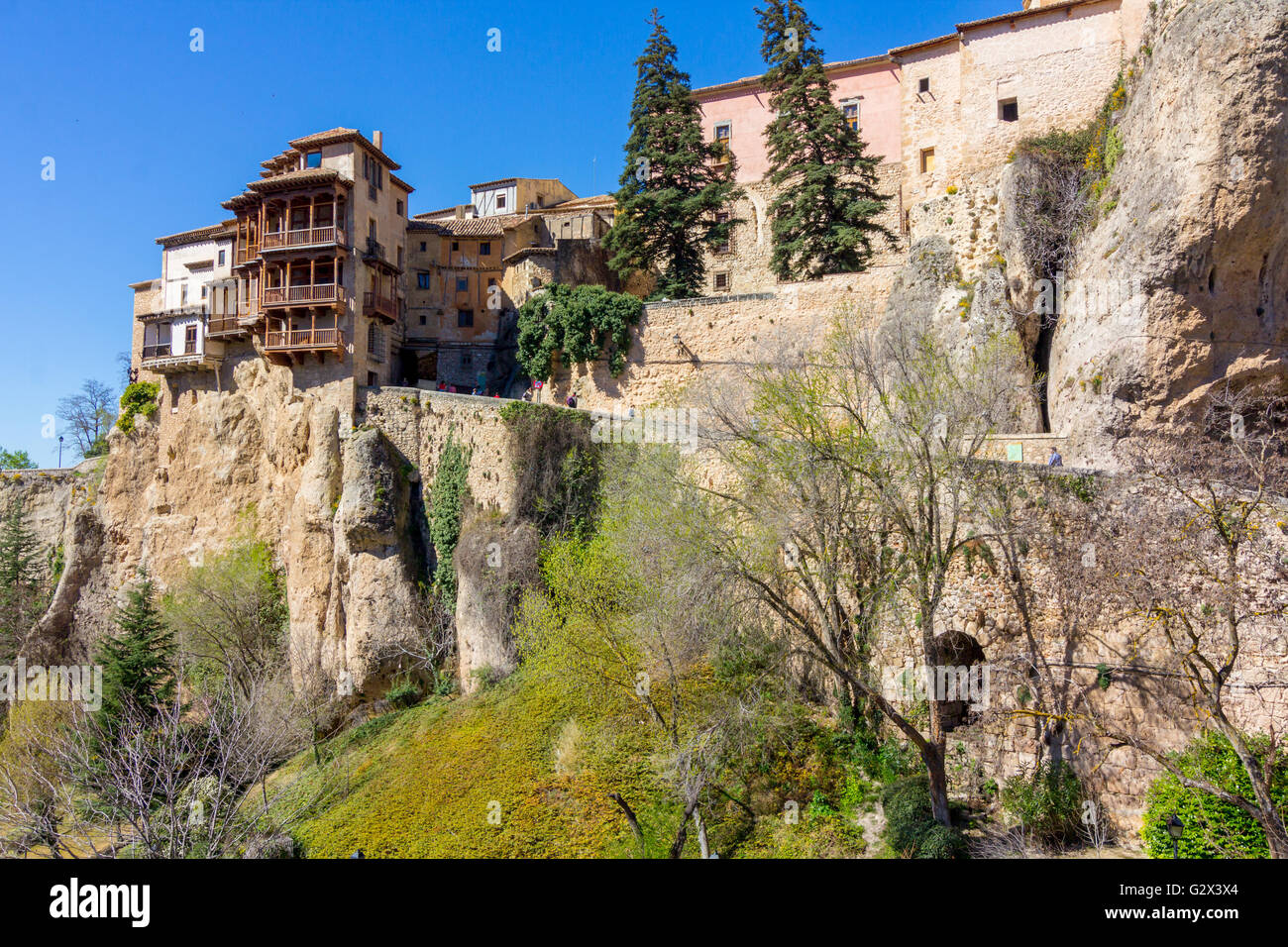 Famous Hanging Houses Of Cuenca In Spain