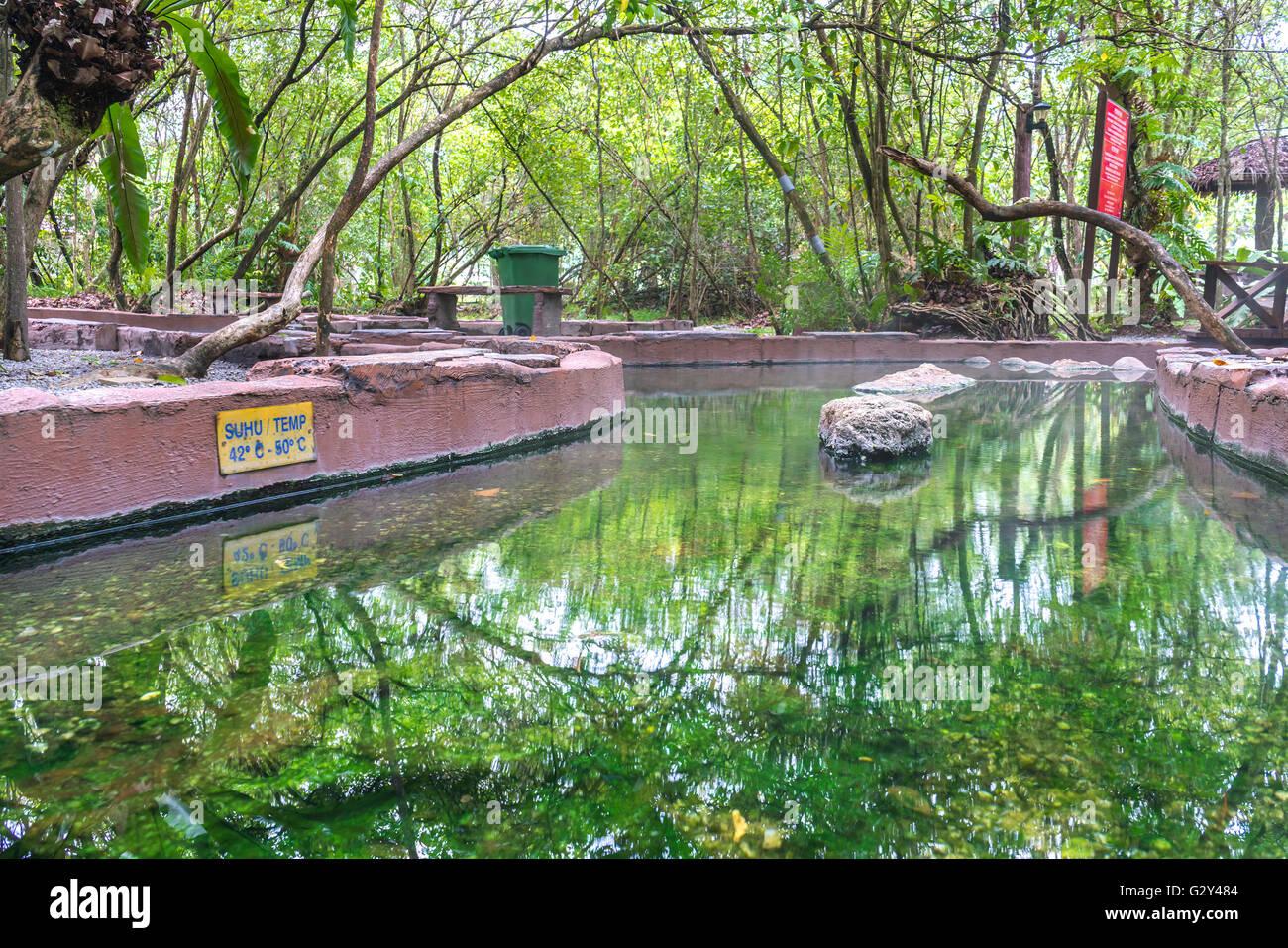 Sungai klah hot springs -  Felda Hot Spring At Sg Klah Perak Malaysia Stock Photo