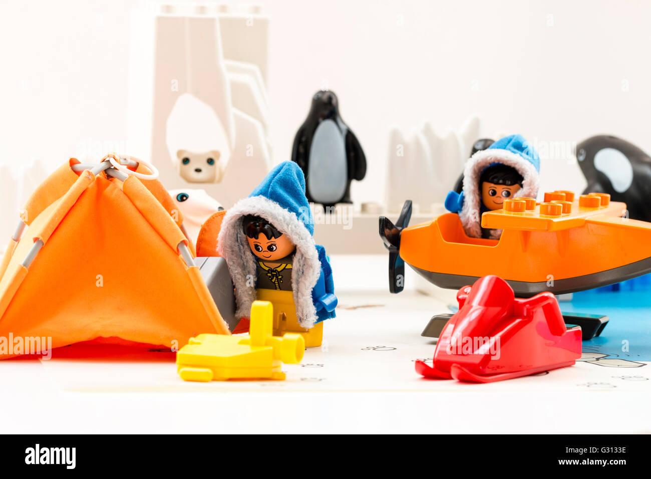 lego arctic base camp instructions