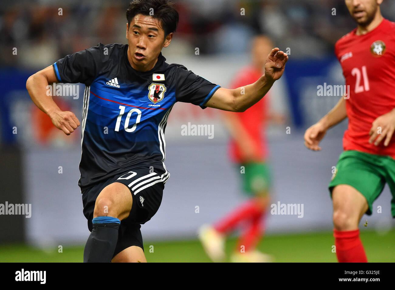 Aichi Japan 3rd June 2016 Shinji Kagawa JPN Football Soccer