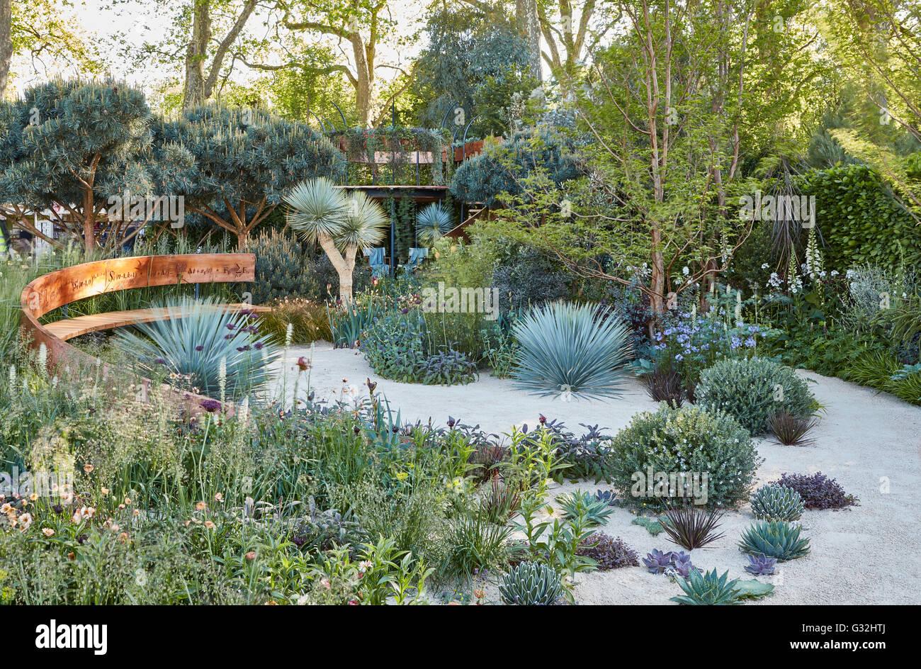 Chelsea Flower Show 2016 Designer Gardens Nick Bailey Winton Beauty Of  Mathematics Garden
