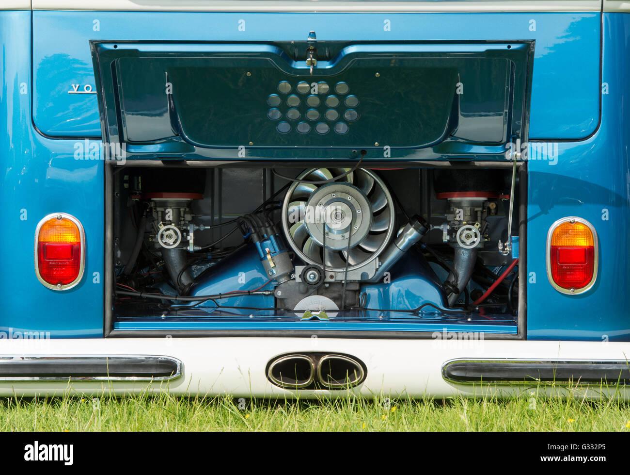 Custom VW Volkswagen Camper Van Engine