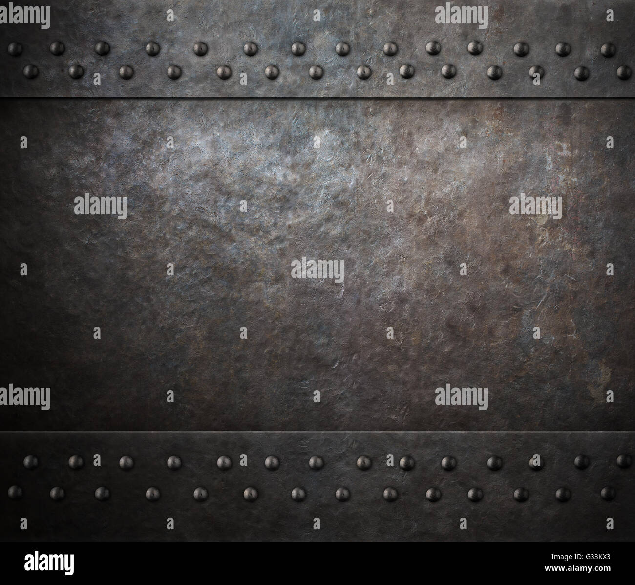 rust steel metal texture with rivets 3d illustration stock photo  105187659