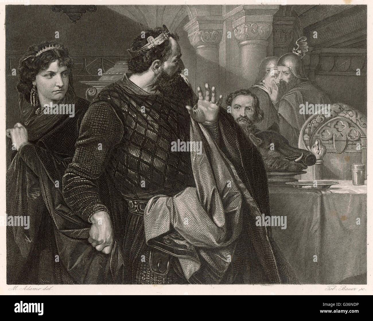 banquet scene of macbeth Act iii scene iv, the same a hall in the palace [ a banquet prepared enter  macbeth, lady macbeth, ross, lennox, lords, and attendants .