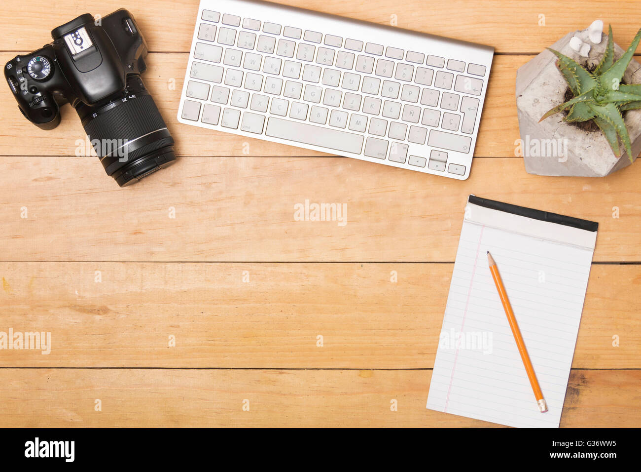 office work desks. office desk work flat lay creative working stock photo desks