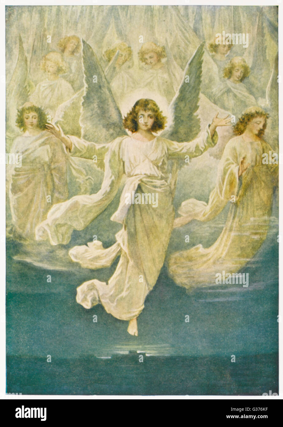 A chorus of angels announce the birth of Jesus Date BCE – Angels Announce the Birth of Jesus