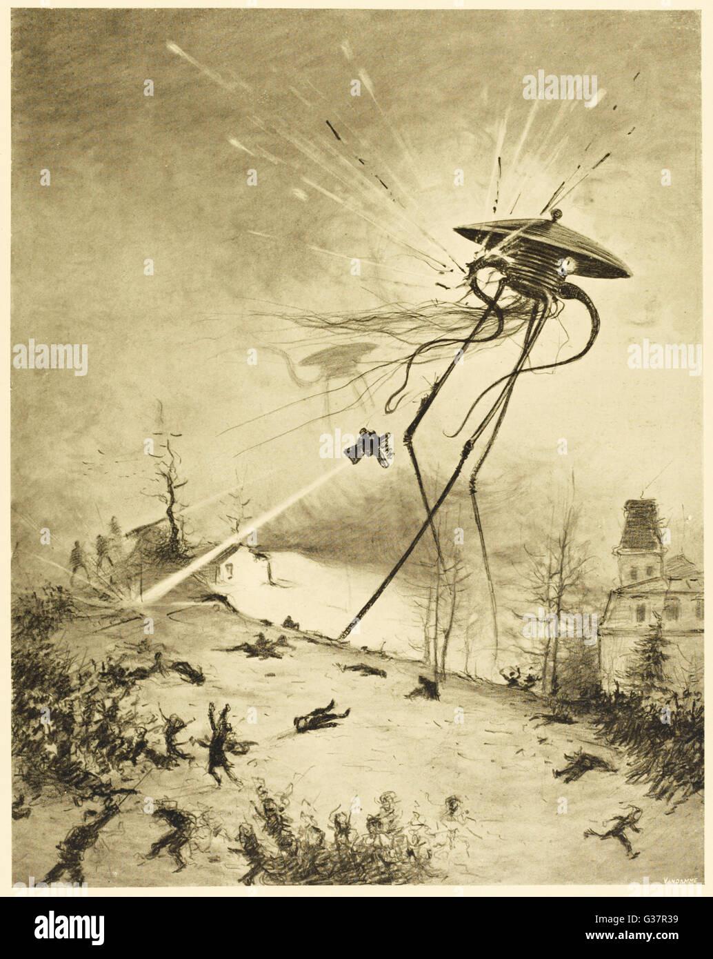 war of the worlds martian war machine