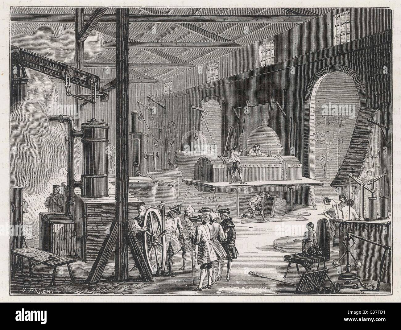 the steam engine powered the british industrial revolution in the 18th century Steam power the development of the steam-engine was the last and most important factor in the the industrial revolution - 18th century britain.