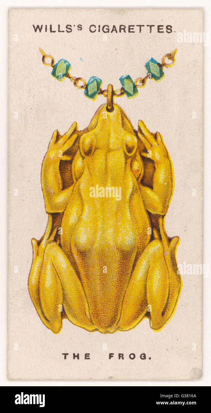 Frog amulet the frog was the emblem of hegt the egyptian goddess frog amulet the frog was the emblem of hegt the egyptian goddess of abundance the romans adopted it as a symbol of prosperity date 1923 buycottarizona