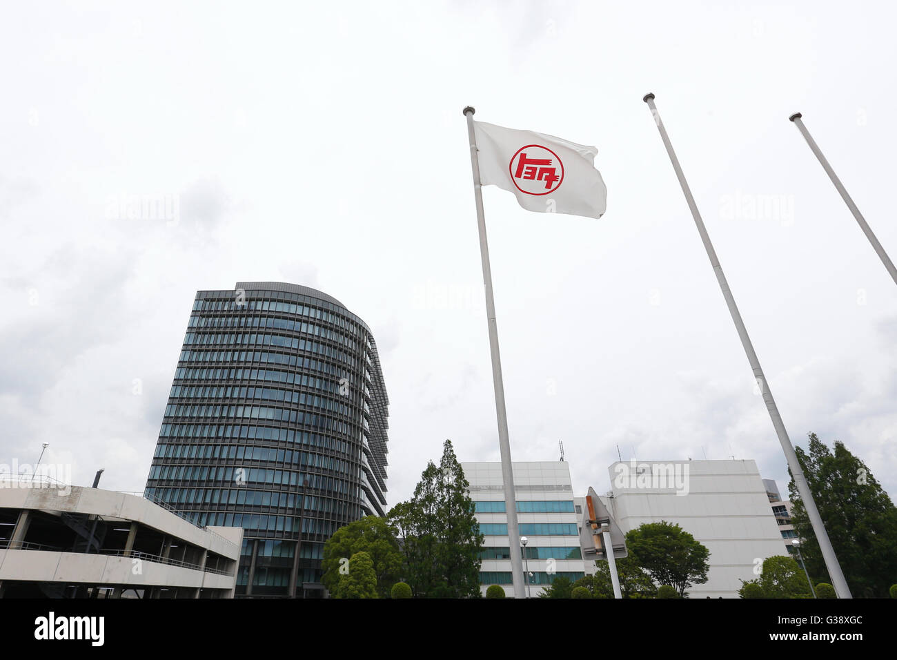 Toyota motor corp headquarters in toyota city aichi prefecture japan on june 4 2016 sho tamura aflo alamy live news