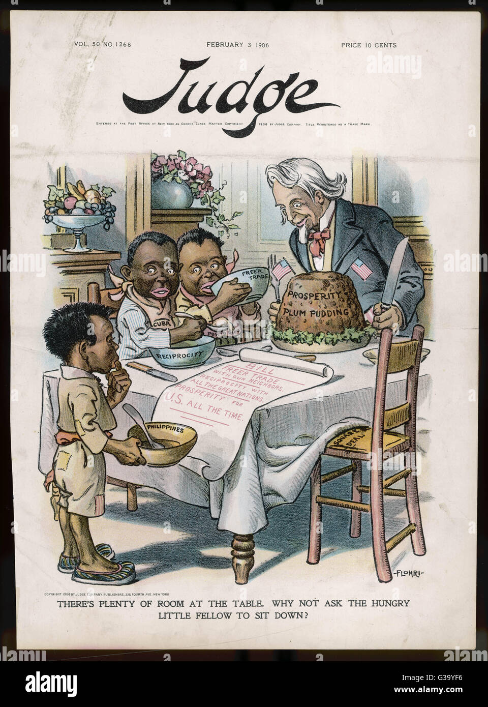 US imperialism: Uncle Sam invites the hungry Philippines ...