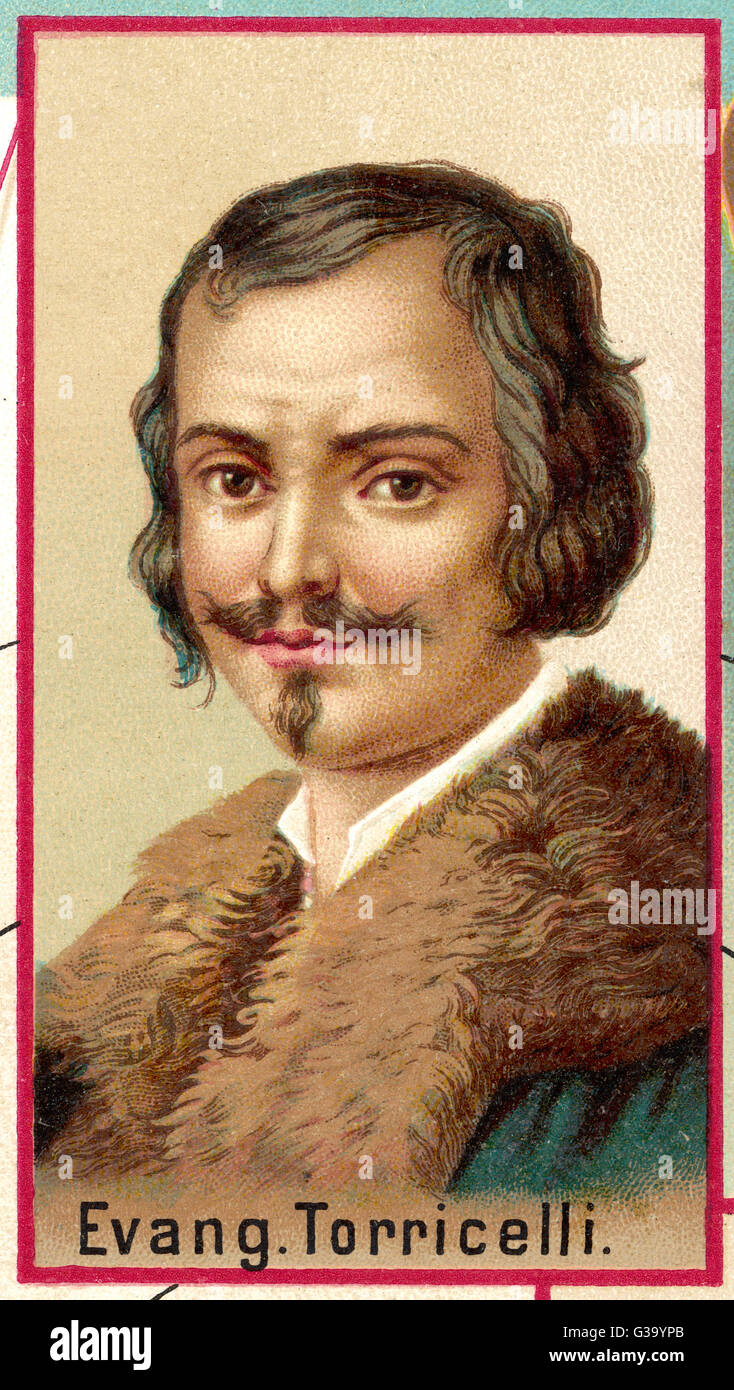 A biography and the contributions of evangelista torricelli an italian mathematician and physicist