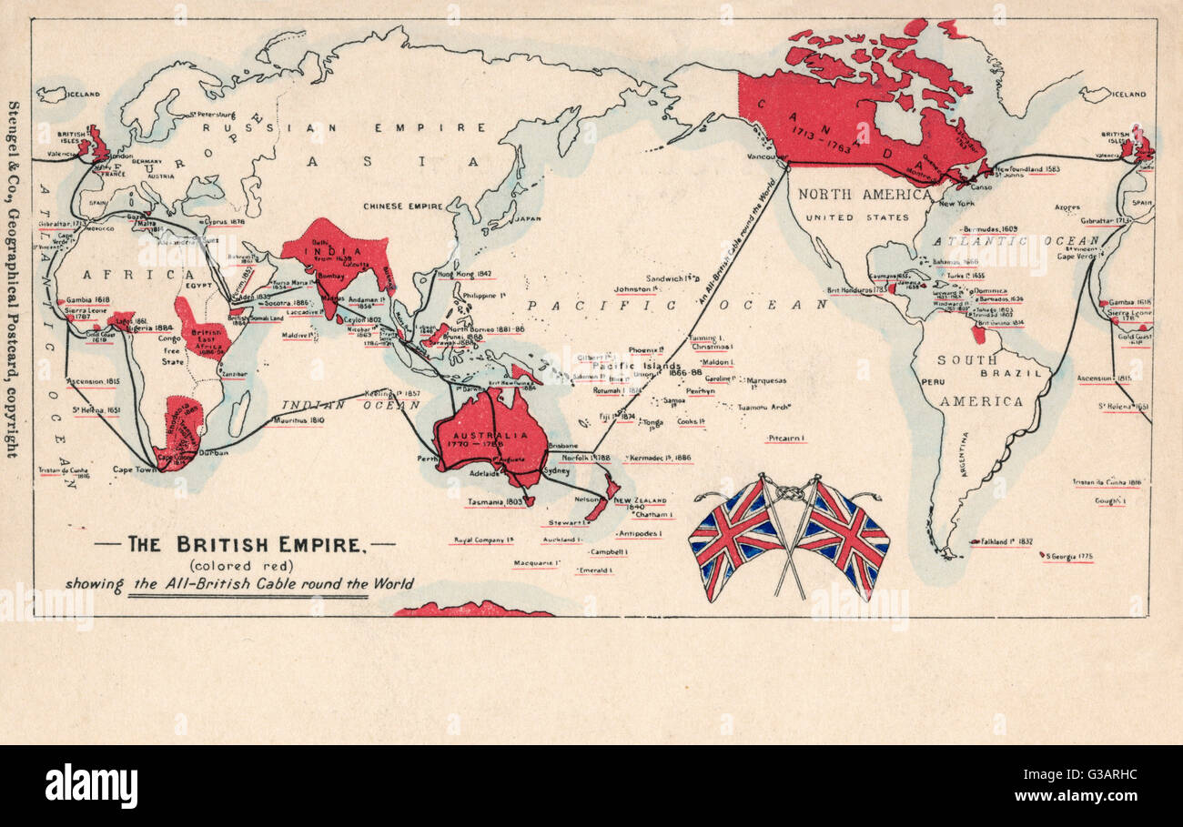 British empire map world maps britishempiremap pinkbitshtm map of the british empire coloured red showing the allbritish gumiabroncs Gallery