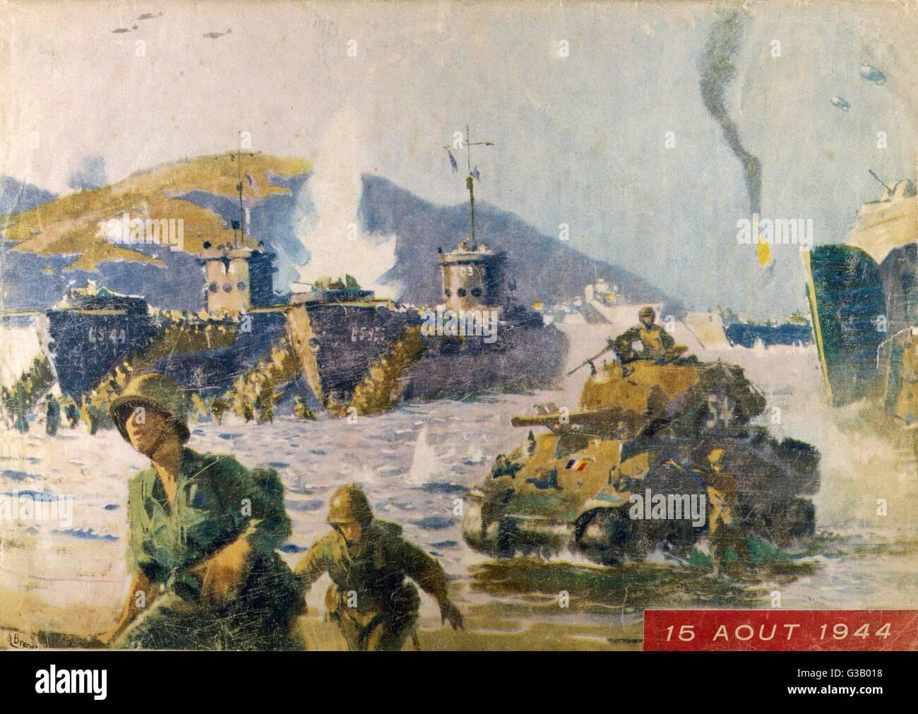 US war model in Normandy – 2