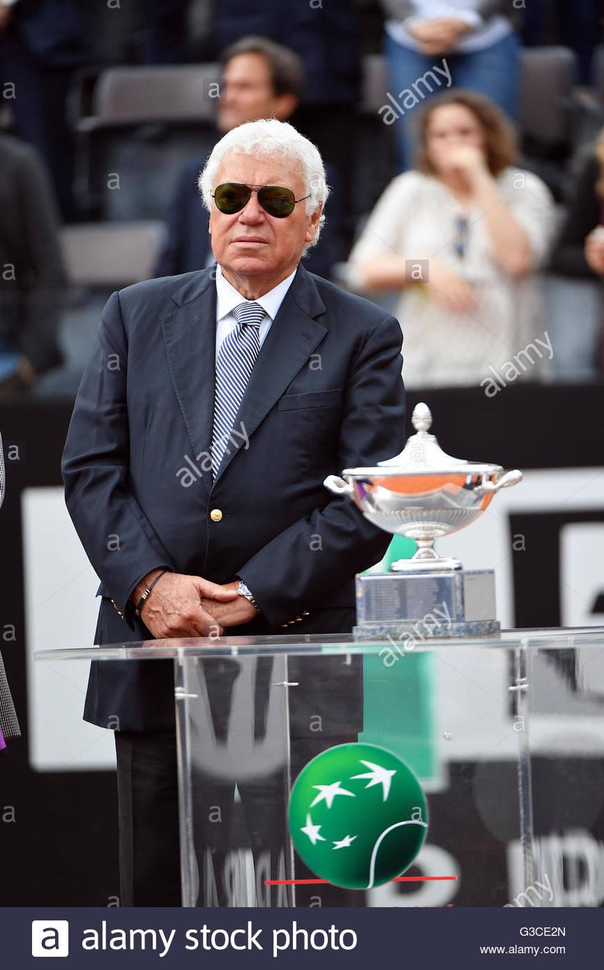 nicola pietrangeli interanzionali di tennis bnl d italia roma 2016
