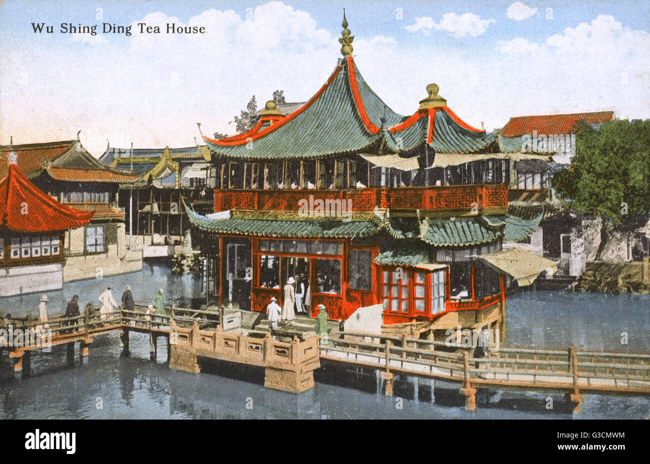 Huxinting Teahouse (Huxinting Chashi), Shanghai, China. The Pavilion Was  Built In 1784 By Cotton Merchants As A Brokerage House. In 1855 It Became,  ...