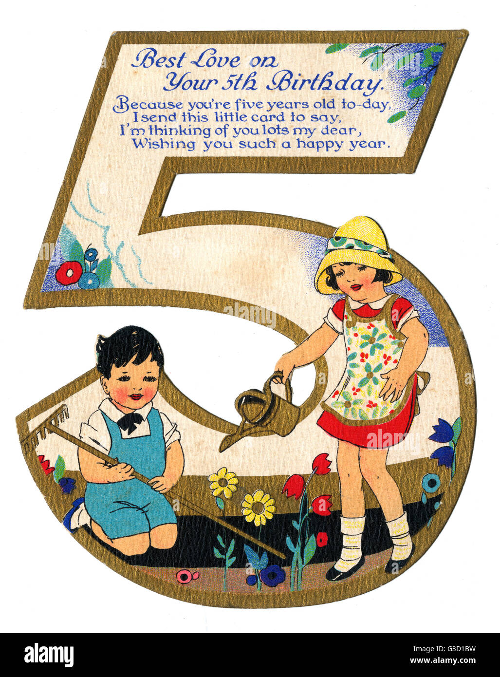 A beautiful birthday card for a 5th birthday two 5 year olds a beautiful birthday card for a 5th birthday two 5 year olds doing bookmarktalkfo Image collections