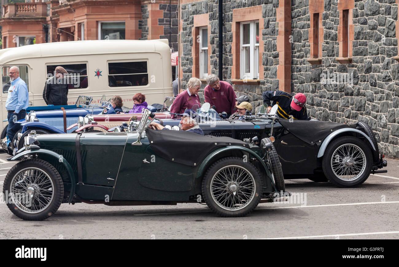 Holywood Northern Ireland Uk 11th June 2016 Mg Car Clubs