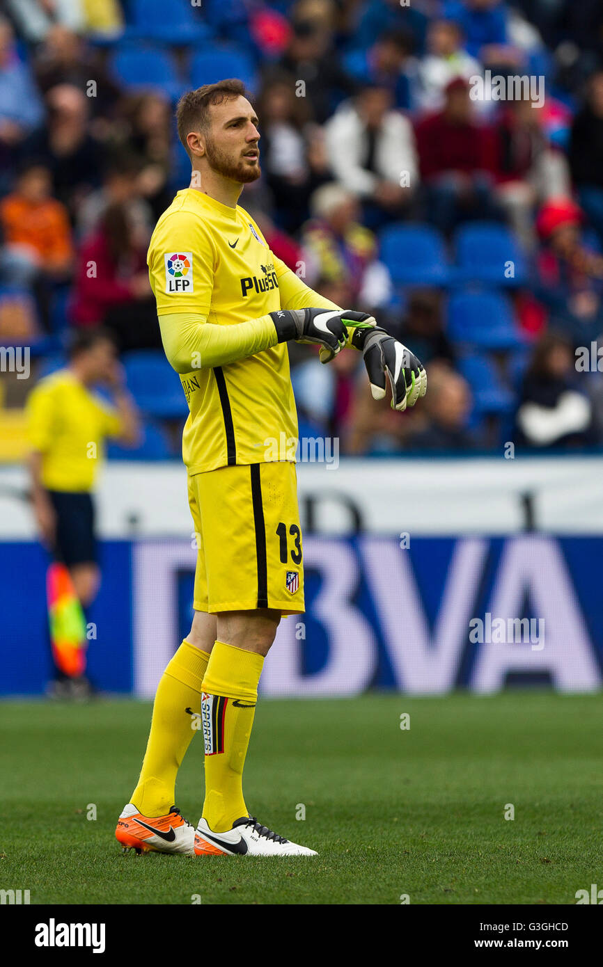 13 JAN OBLAK OF ATLETICO DE MADRID during La Liga match between