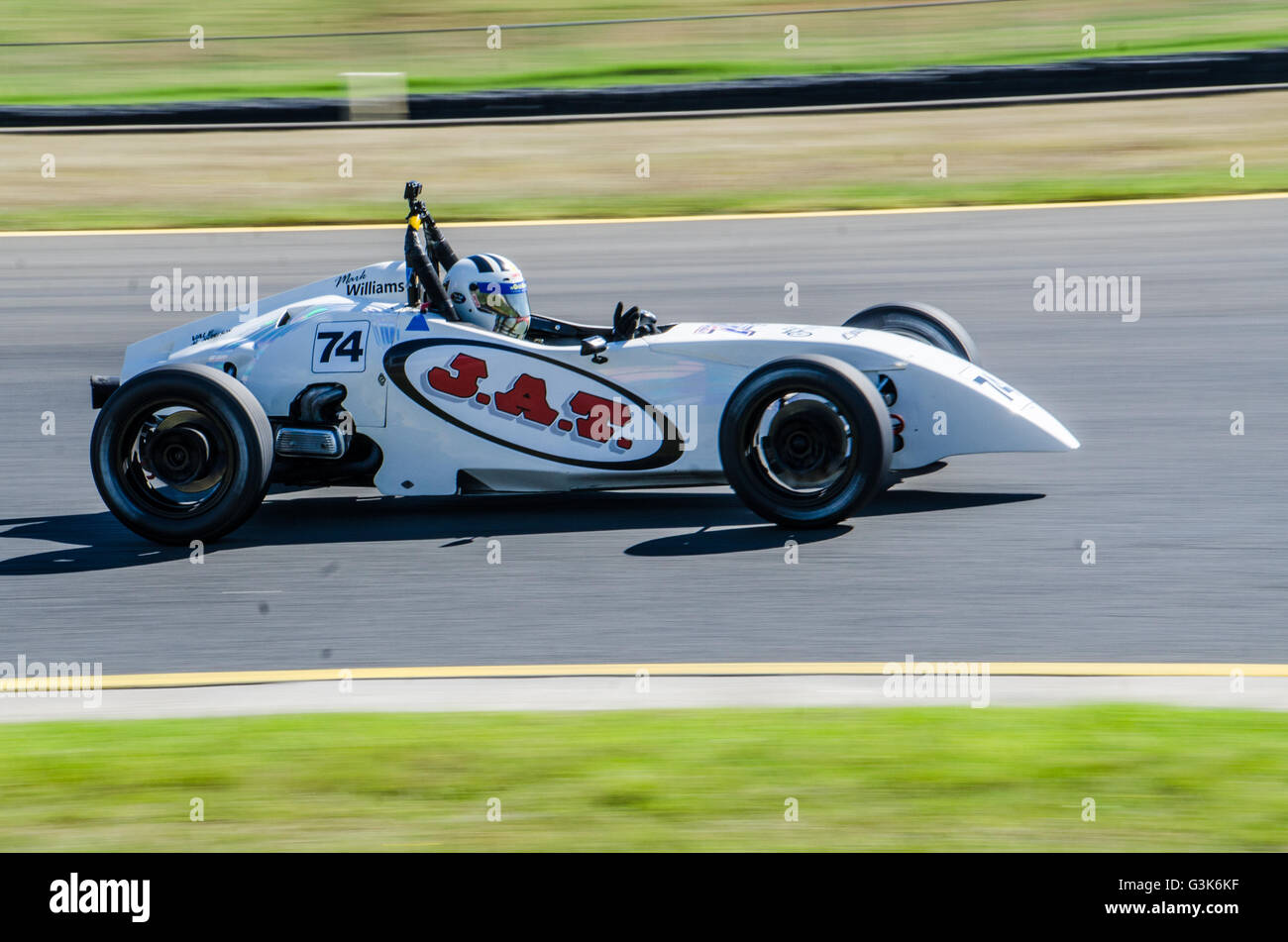 Bon Day 2 Of The New South Wales Motor Race Championships Round 2 Featured A  Wide Variety Of Racing Including Supersports, Sports Sedans, Formula Cars,  ...