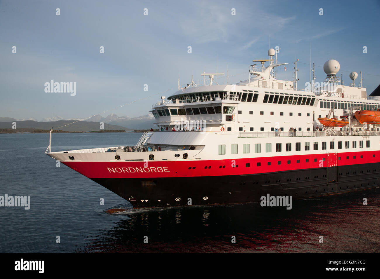 Nord Norge Coastal Steamer Stock Photo Royalty Free Image - Can you take a steamer on a cruise ship