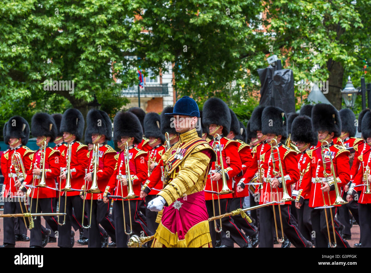 Massed Bands at The Queens Birthday Parade 2016 ,also ...