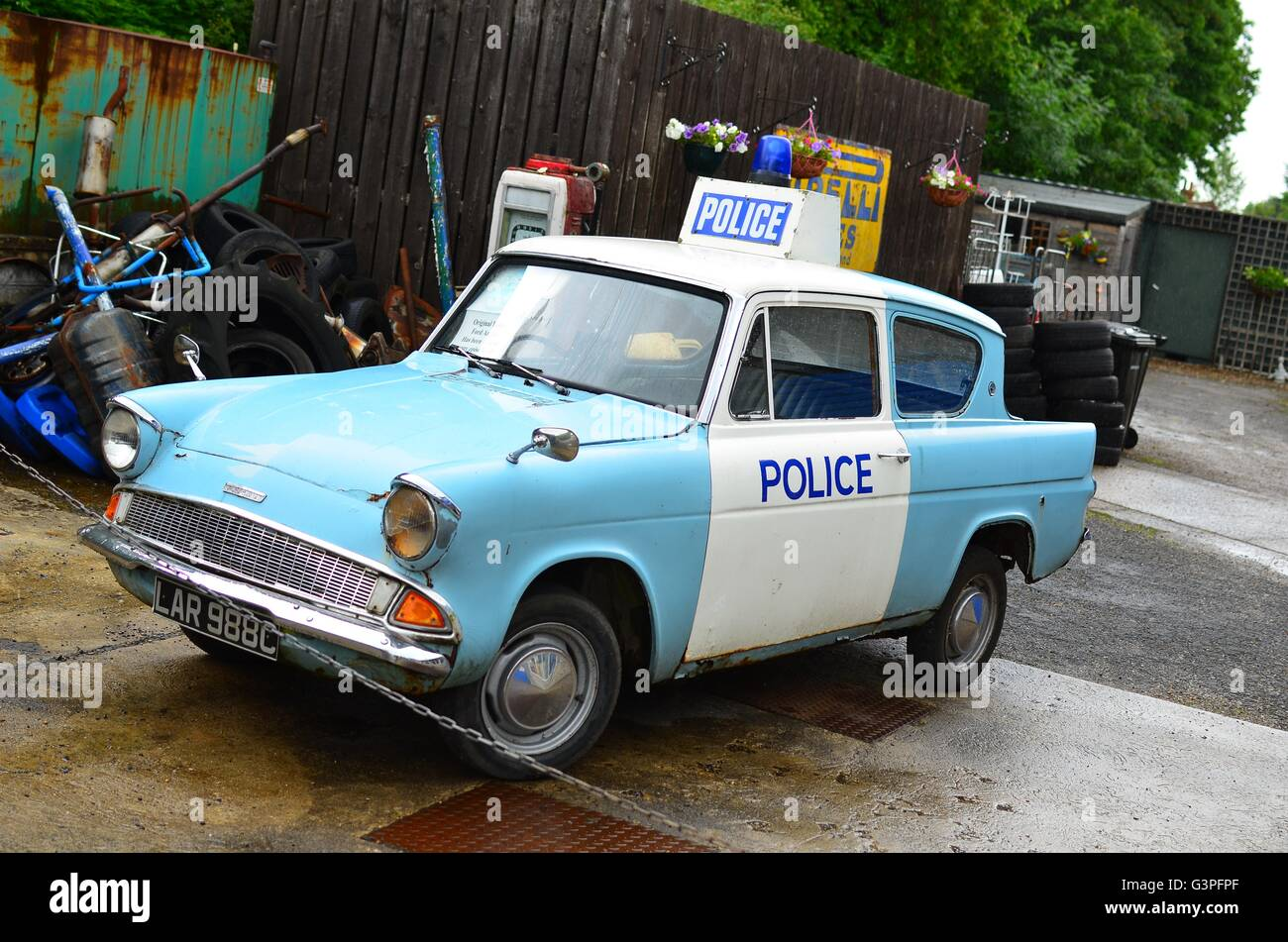 Ford Anglia Police Car Heartbeat Aidensfield Goathland In