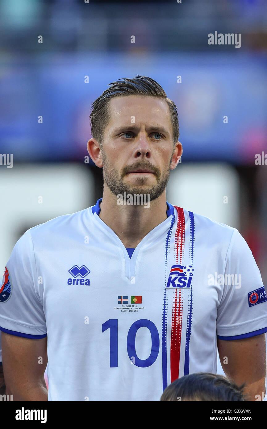 Gylfi Sigurdsson Iceland June 14 2016 Football Uefa Euro