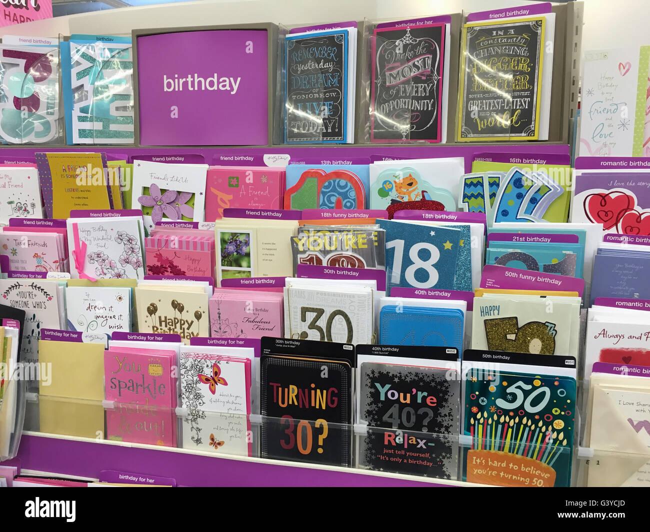 birthday cards for sale Washington State USA Photo – Birthday Cards Usa