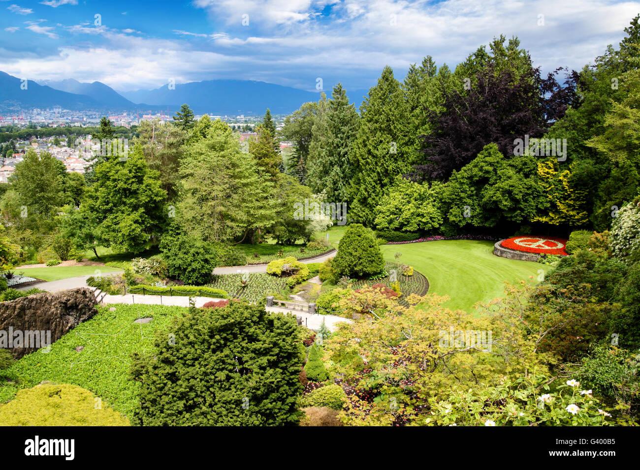 Queen Elizabeth Park In Vancouver At Metres Above Sea Level - Metres above sea level
